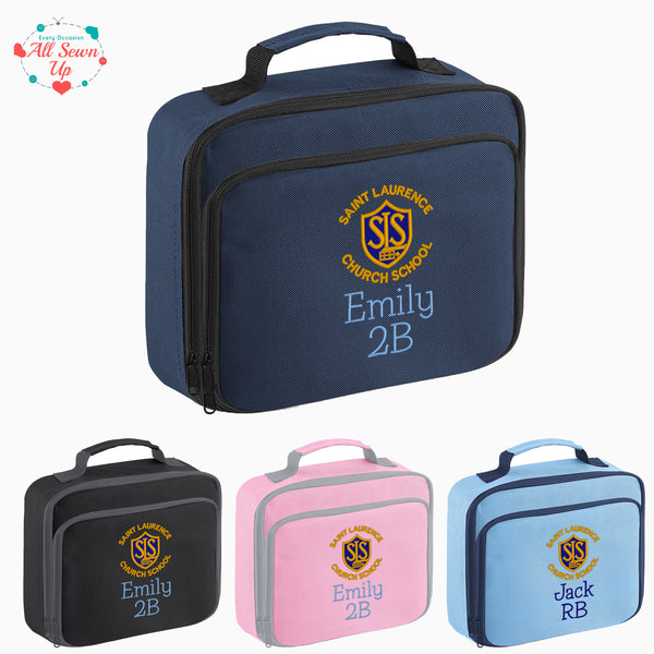 St Laurence Schools - Personalised Lunch Box