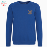 St Laurence Schools - Royal Blue Round Neck Jumper