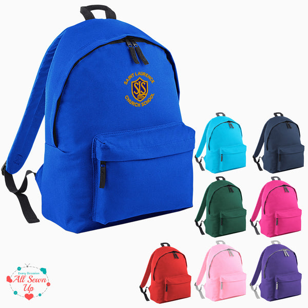 St Laurence Schools -  Embroidered Rucksack