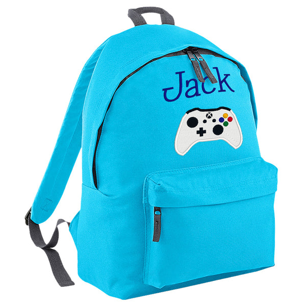 Embroidered Rucksack - Game Controller