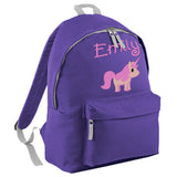 Unicorn Embroidered Rucksack/PE bag