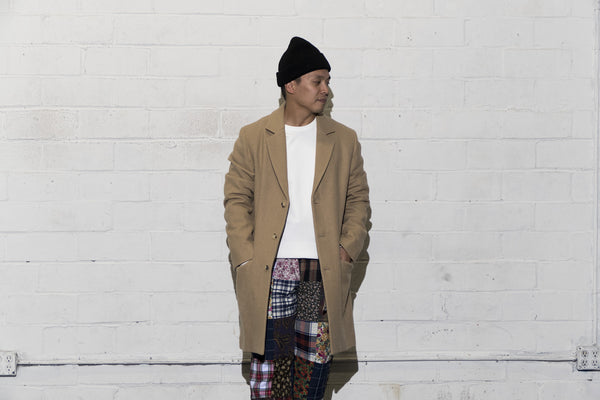 Style Director Selects: A.P.C. Lewis Long Coat, Reigning Champ Midweight Crewneck