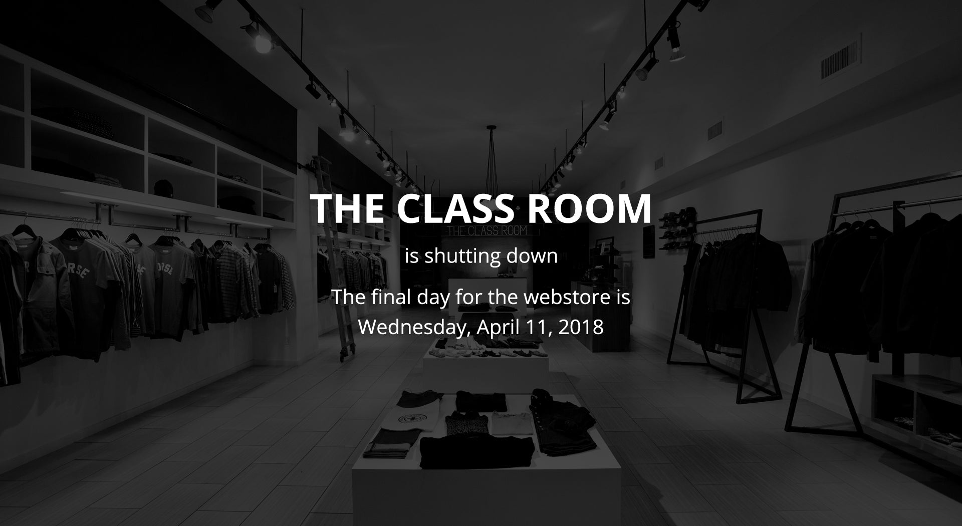 The Class Room | Thank You Houston