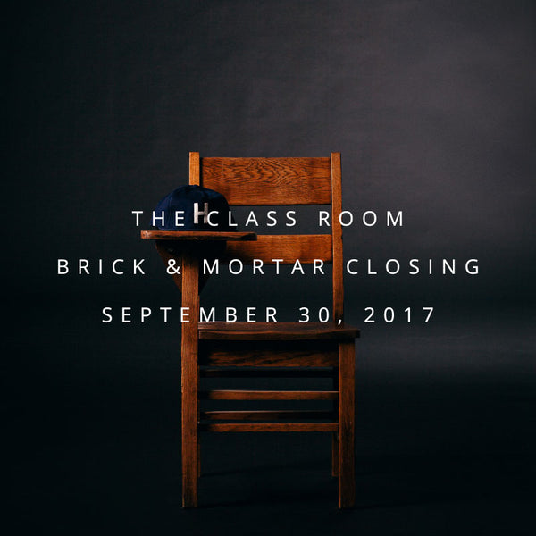 The Class Room Closing