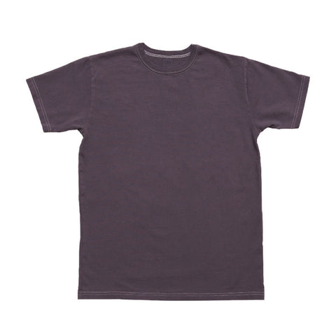 3sixteen Garment Dyed Plain T-shirt - Purple - The Class Room boutique