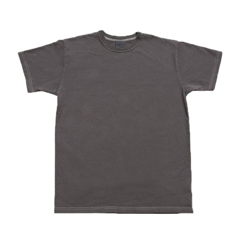3sixteen Garment Dyed Plain T-shirt - Charcoal - The Class Room boutique