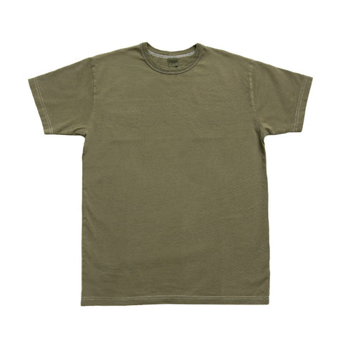 3sixteen Garment Dyed Plain T-shirt - Olive - The Class Room boutique