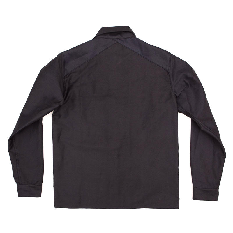 3sixteen Fatigue Overshirt - Navy Herringbone - The Class Room boutique