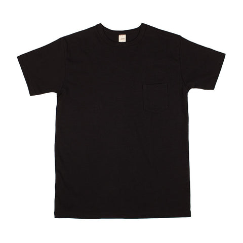 3sixteen Heavyweight Pocket T-shirt - Black - The Class Room