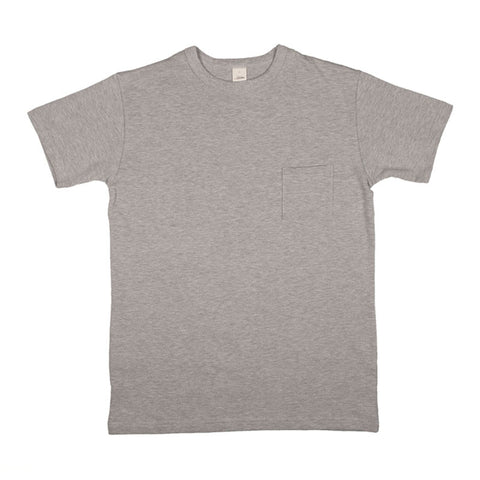 3sixteen Heavyweight Pocket T-shirt - Heather Grey - The Class Room