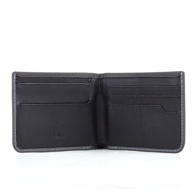 Bellroy Hide & Seek Wallet - Charcoal - The Class Room - 2