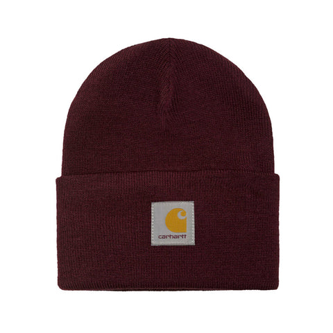 Carhartt WIP Acrylic Watch Hat (Beanie) - Chianti - The Class Room boutique