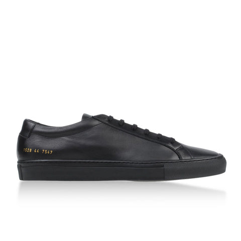 Common Projects Original Achilles Low - Black - The Class Room - 1