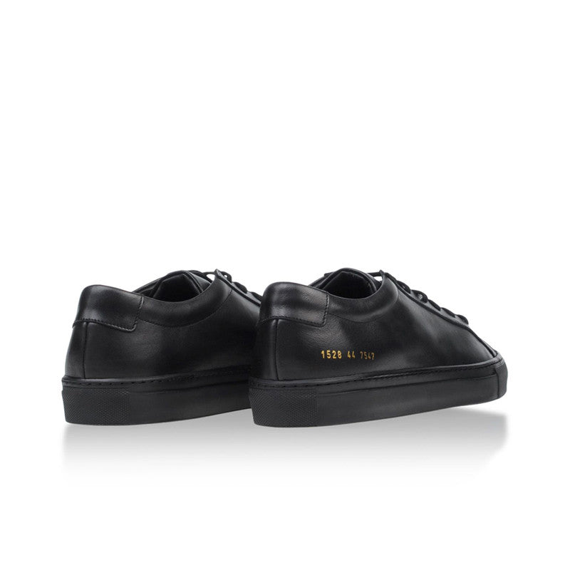 Common Projects Original Achilles Low - Black - The Class Room - 4