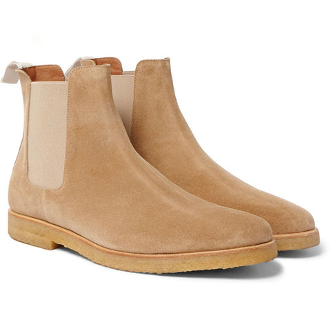 Common Projects Chelsea Boot - Tan Suede - The Class Room - 1