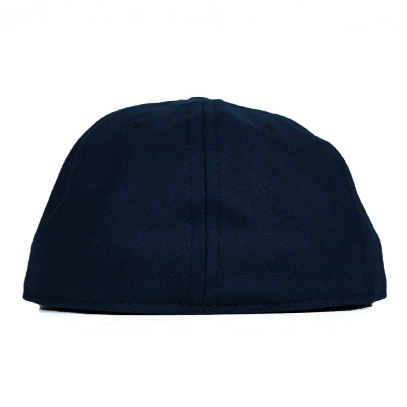 Ebbets Field Flannels TCR Houston Classic Fitted Cap - Navy Wool - The Class Room boutique