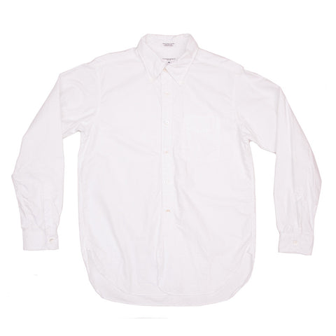 Engineered Garments 19th Century BD Shirt - White Cotton Oxford - The Class Room boutique
