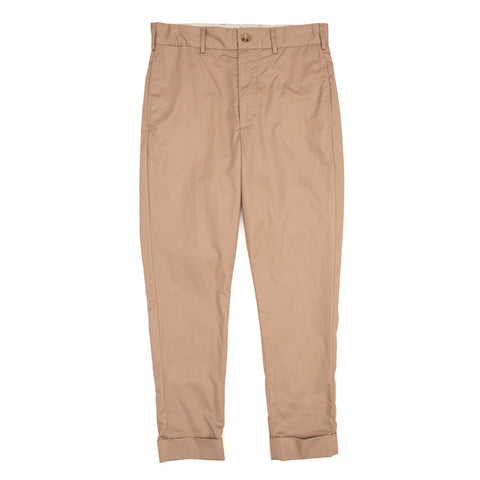 Engineered Garments Cinch Pant - Khaki High Count Twill - The Class Room boutique