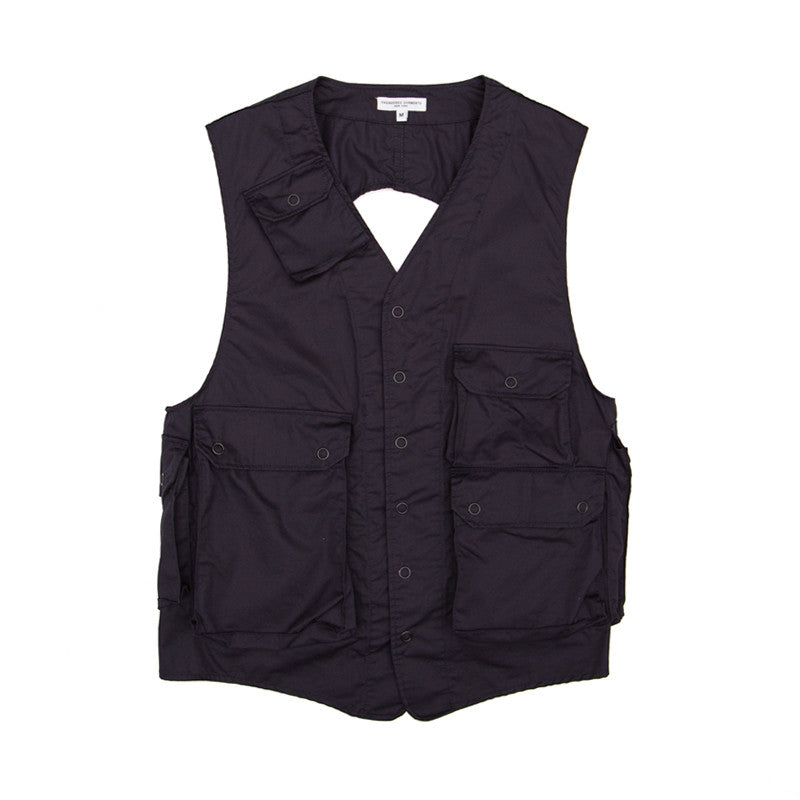 Engineered Garments C-1 Vest - Dk. Navy High Count Twill - The Class Room boutique