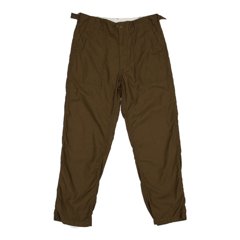 Engineered Garments Fatigue Pant - Olive Reversed Sateen - The Class Room boutique