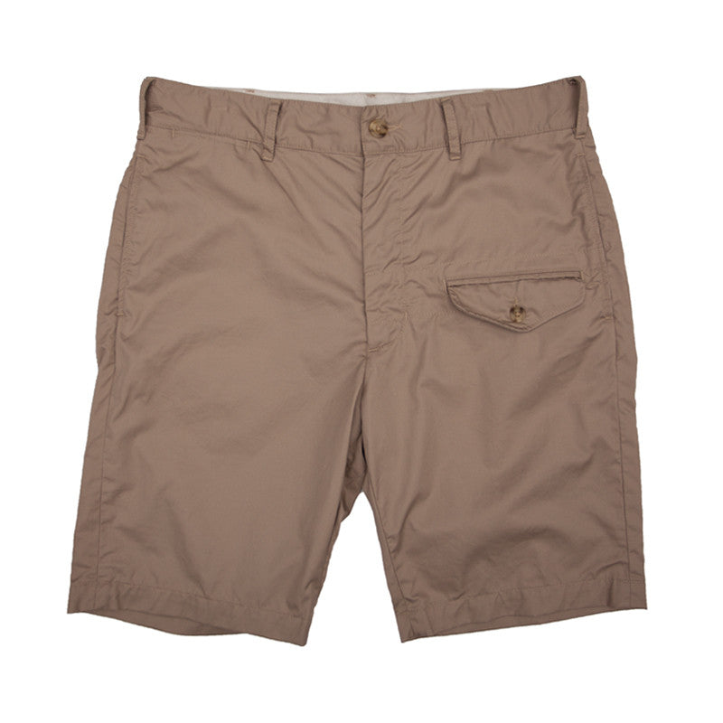 Engineered Garments Ghurka Short - Khaki High Count Twill - The Class Room boutique