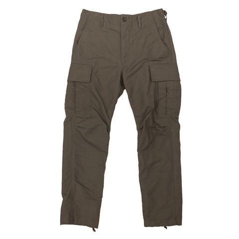 Engineered Garments BDU Pant - Olive Cotton Double Cloth - The Class Room boutique