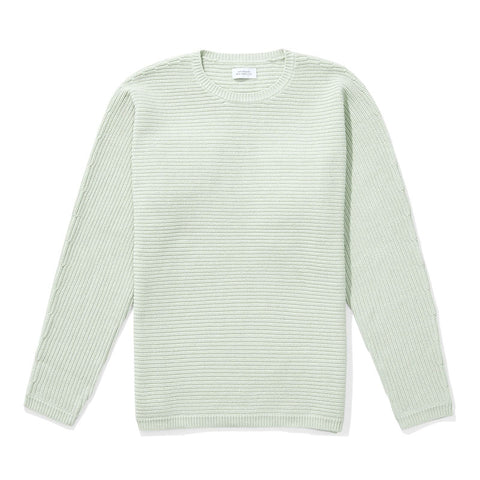 Saturdays NYC Everyday Horizontal Sweater - Mint - The Class Room boutique