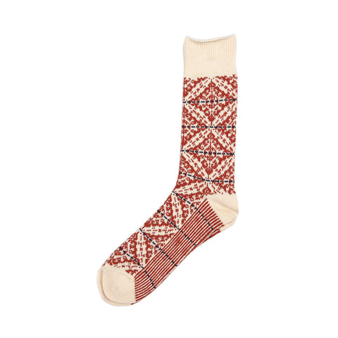 Anonymous Ism Norweigian Crew Sock - Natural - The Class Room boutique