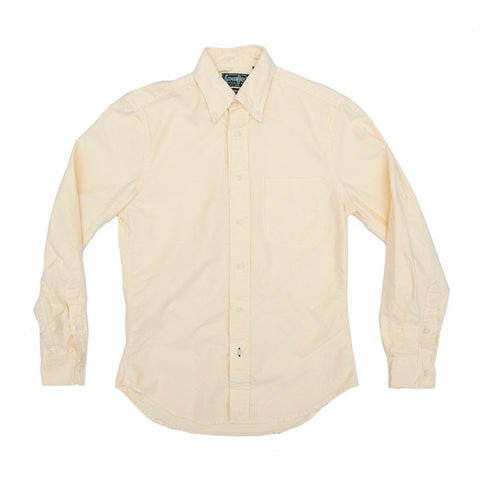 Gitman Vintage Oxford Buttondown - Yellow - The Class Room