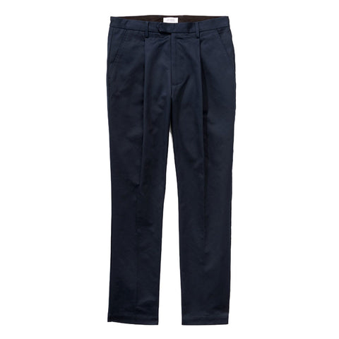 Saturdays NYC Gordy Pleated Twill Pants - Midnight - The Class Room boutique