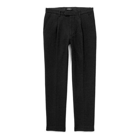 Saturdays NYC Gordy Pleated Twill Pants - Black - The Class Room boutique