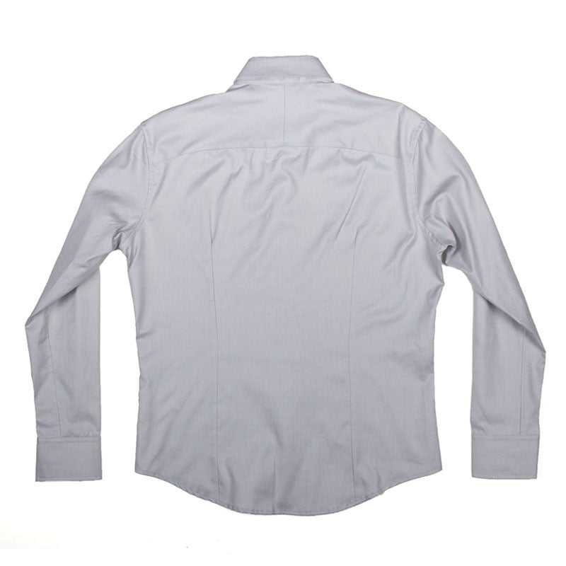 Inquiry Premise Buttondown Shirt - Gray - The Class Room - 2