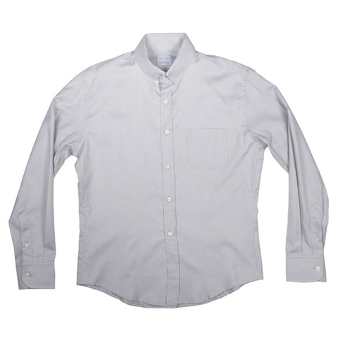 Inquiry Premise Buttondown Shirt - Gray - The Class Room - 1