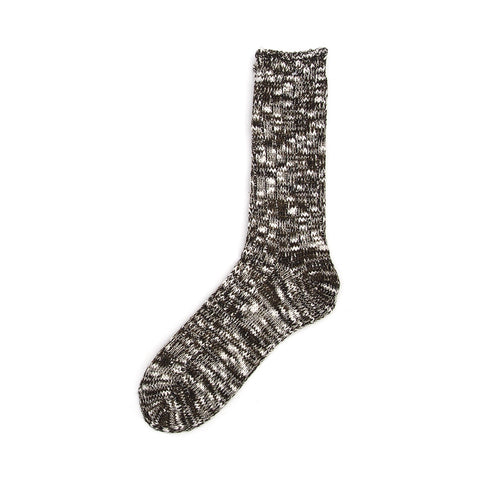 Anonymous Ism Slub Crew Sock - Olive - The Class Room boutique