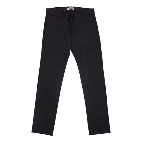 Naked & Famous Slim Chino - Black Stretch Twill - The Class Room boutique