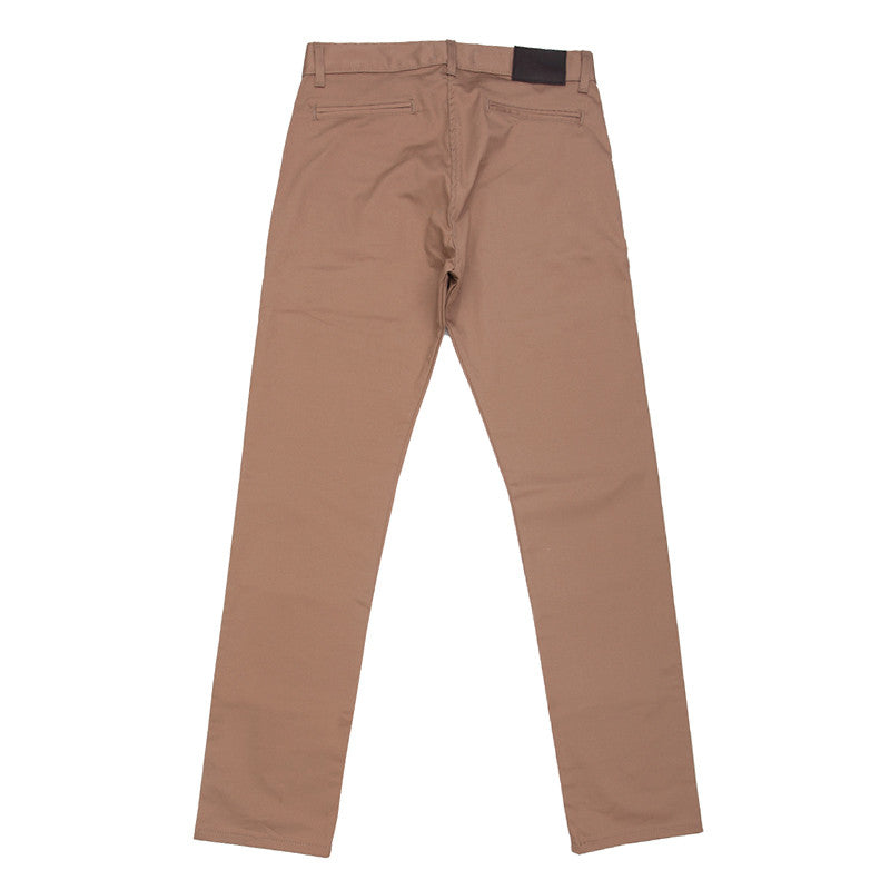 Naked & Famous Slim Chino - Beige Stretch Twill - The Class Room boutique
