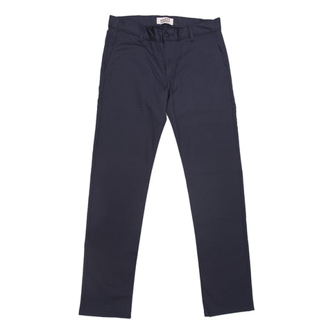 Naked & Famous Slim Chino - Navy Stretch Twill - The Class Room boutique
