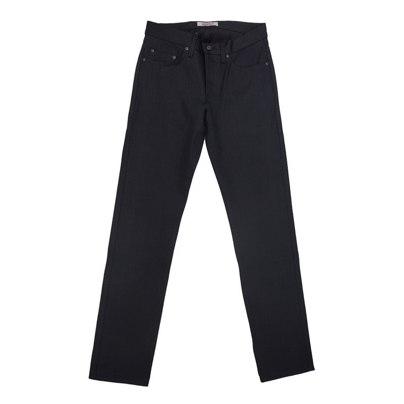 Naked & Famous Weird Guy - Solid Black Selvedge - The Class Room boutique
