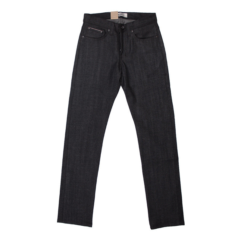Naked & Famous Weird Guy - Black/Grey Stretch Selvedge - The Class Room boutique