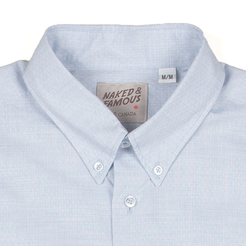 Naked & Famous Regular Shirt - Fine Dobby Diamonds - The Class Room boutique