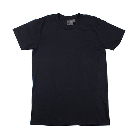 Naked & Famous Circular Knit T-shirt - Black - The Class Room boutique