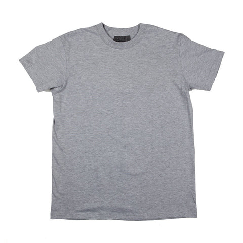 Naked & Famous Circular Knit T-shirt - Heather Grey - The Class Room boutique