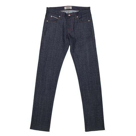 Naked & Famous Super Skinny Guy - Stretch Selvedge Indigo Denim - The Class Room - 1