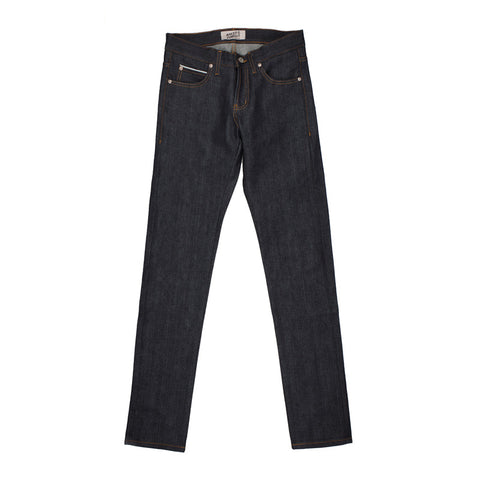 Naked & Famous Super Skinny Guy Left Hand Twill Selvedge Denim - The Class Room - 1