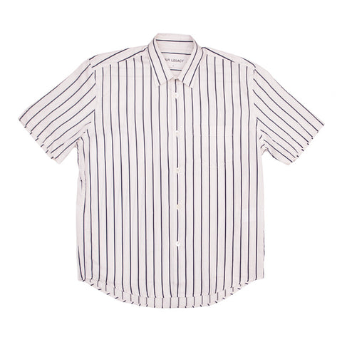 Our Legacy Initial SS Shirt - Big Blue/White Stripe - The Class Room boutique