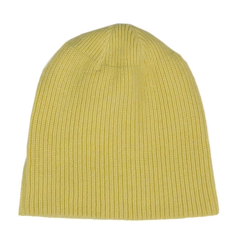Our Legacy Knitted Hat Citron Wool - The Class Room boutique