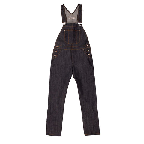 Naked & Famous Overall Left Hand Twill Selvedge -Indigo - The Class Room boutique