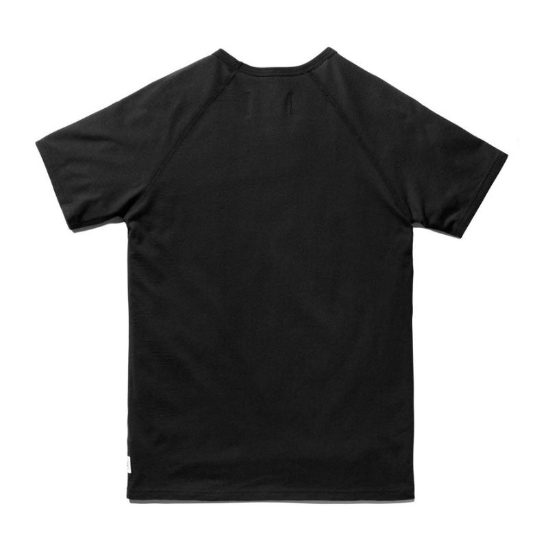 Reigning Champ Knit Mesh Jersey SS Raglan Tee - Black - The Class Room boutique