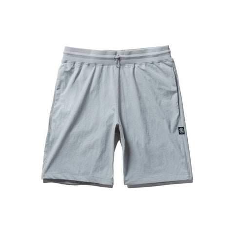 Reigning Champ Woven Stretch Nylon Short - Sky Grey - The Class Room boutique