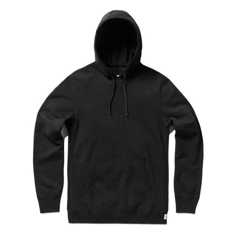 Reigning Champ Lightweight Terry Pullover Hoodie - Black - The Class Room